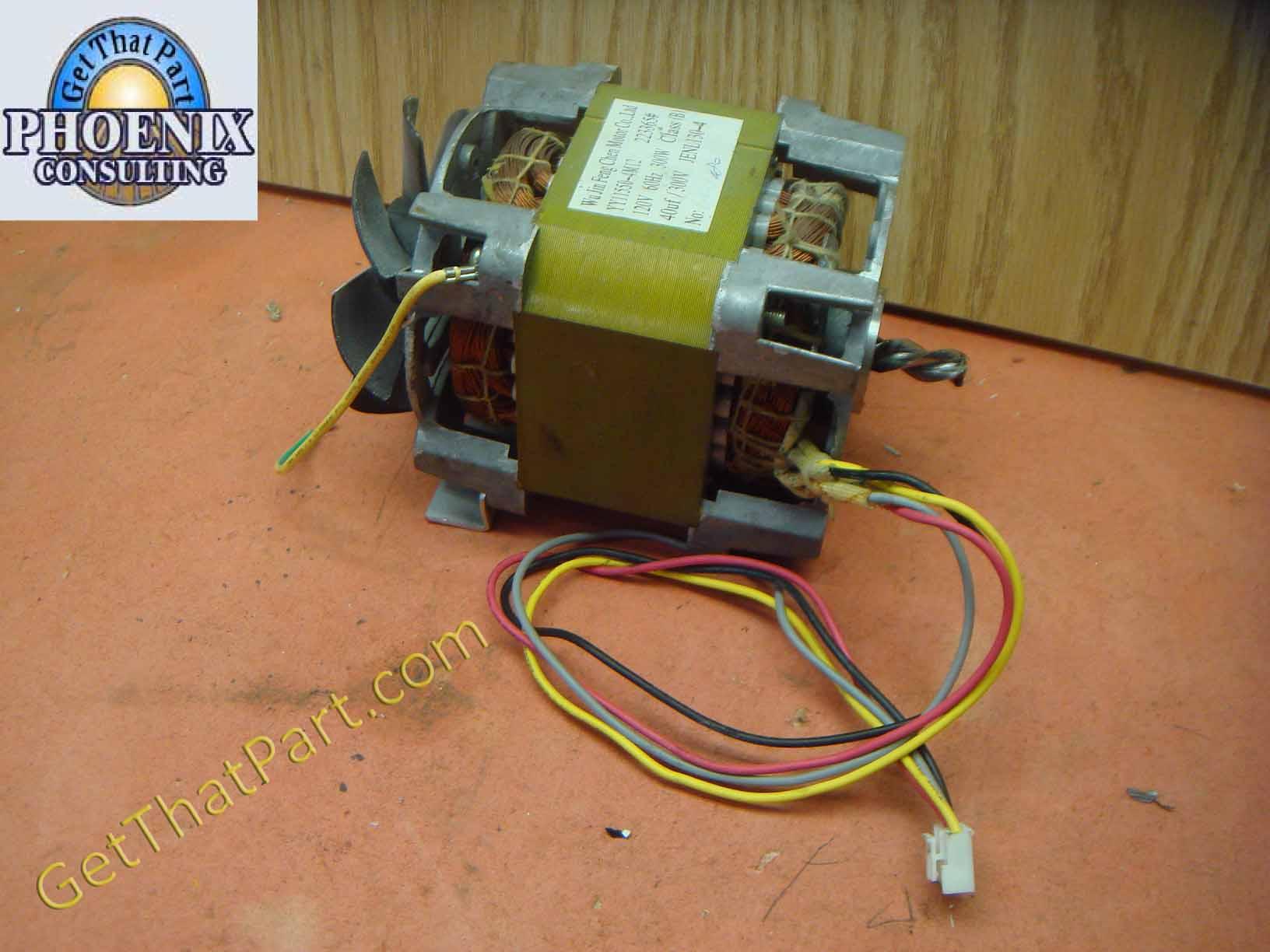 Shredder Replacement Parts : Fellowes sb c paper shredder main motor assembly