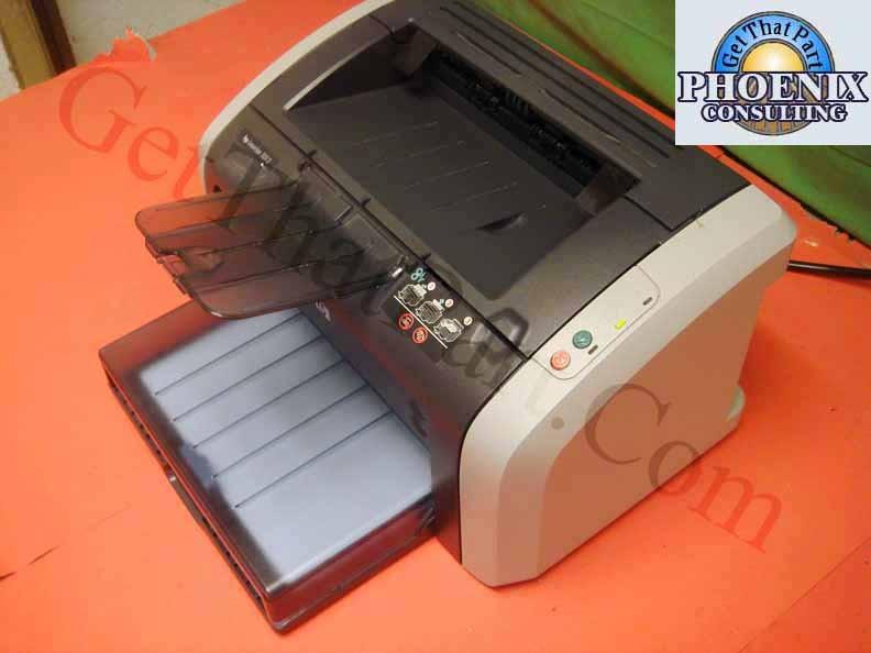 Hook up HP LaserJet 1012