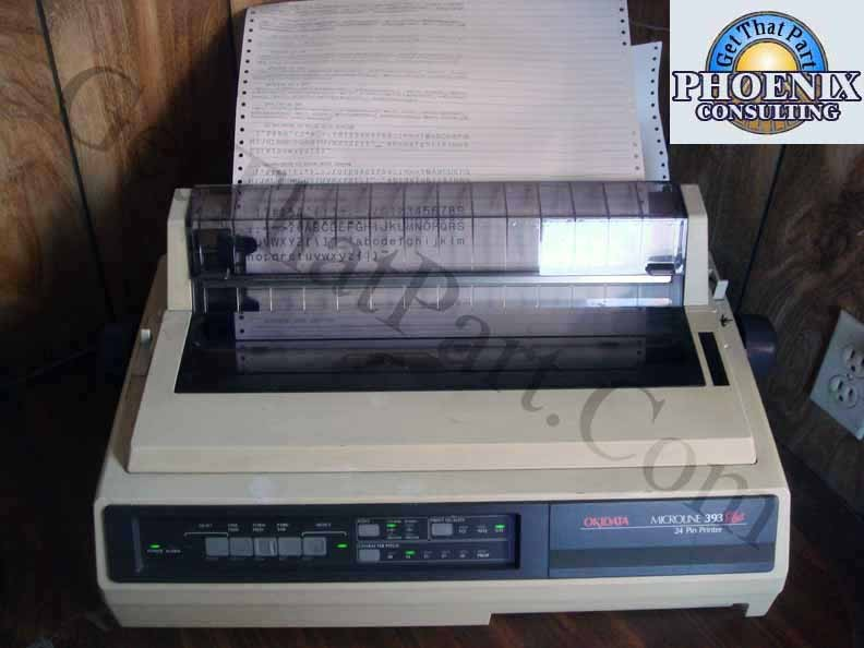 Okidata GE8283A ML393 Microline 393 Plus Forms Dot Matrix ...