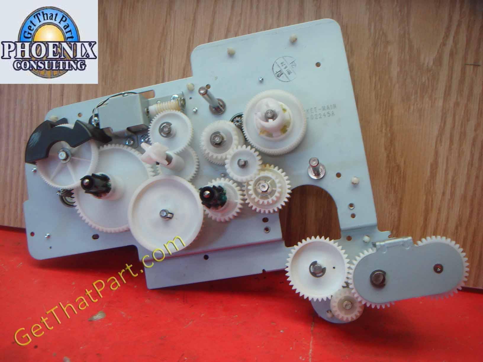 pimpandhost 00168a Samsung SCX-6555 Main Motor Gear Drive Assembly JC93-00168A