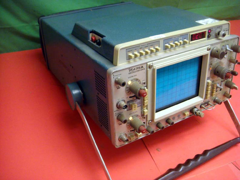 tektronix 475a dual channel 250mhz oscilloscope w dm44 rh getthatpart com Tektronix Phaser Tektronix Communications