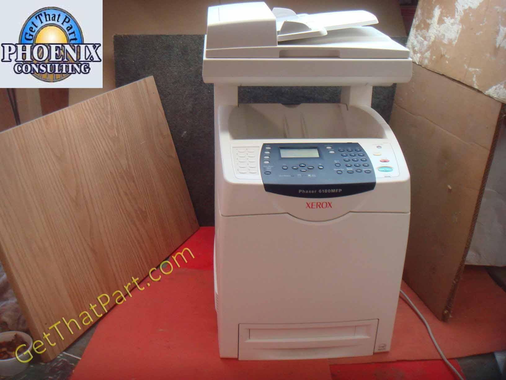 Xerox color laser printers - Xerox Phaser 6180mfp Duplex Network Multifunction Color Laser Printer