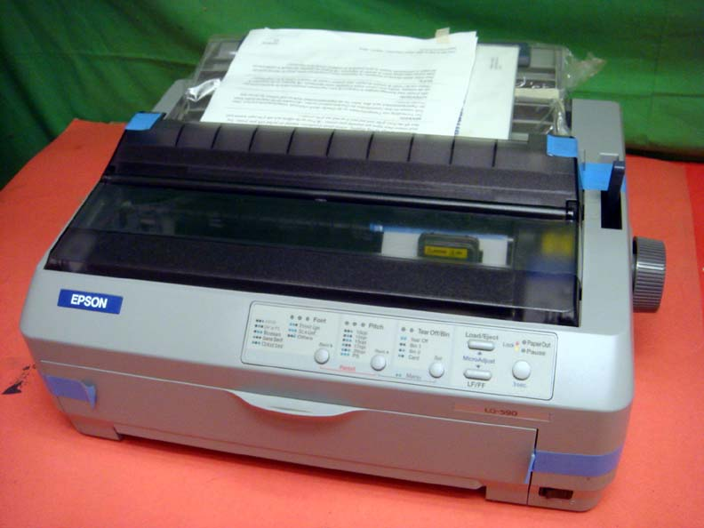 epson lq 590 lq590 forms usb dot matrix printer new. Black Bedroom Furniture Sets. Home Design Ideas