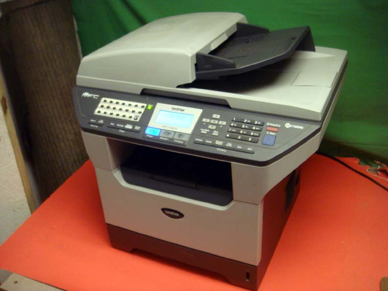 brother mfc 8460n network laser fax scanner printer. Black Bedroom Furniture Sets. Home Design Ideas