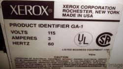 "XEROX GA-1 GA1 36"" CUTTER 1 for 2520 ENGINEERING COPIER"