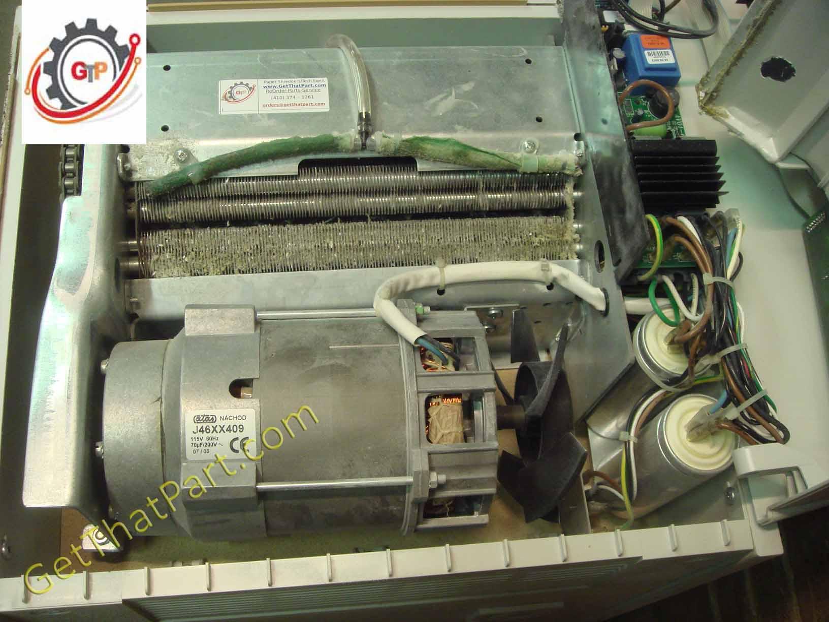 Dahle 20634 EC MicroCut Steel Gear Industrial German Paper Shredder