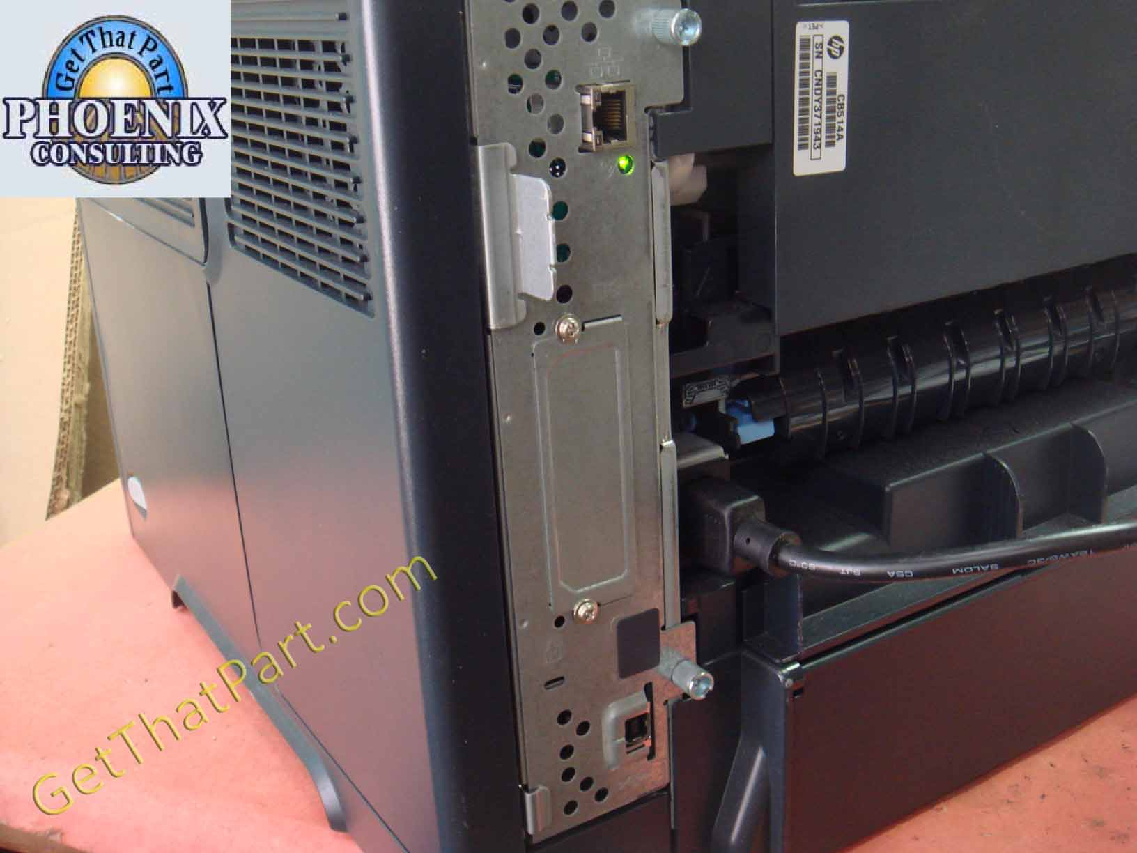 Lexmark MS415dn Installation Through USB Cable
