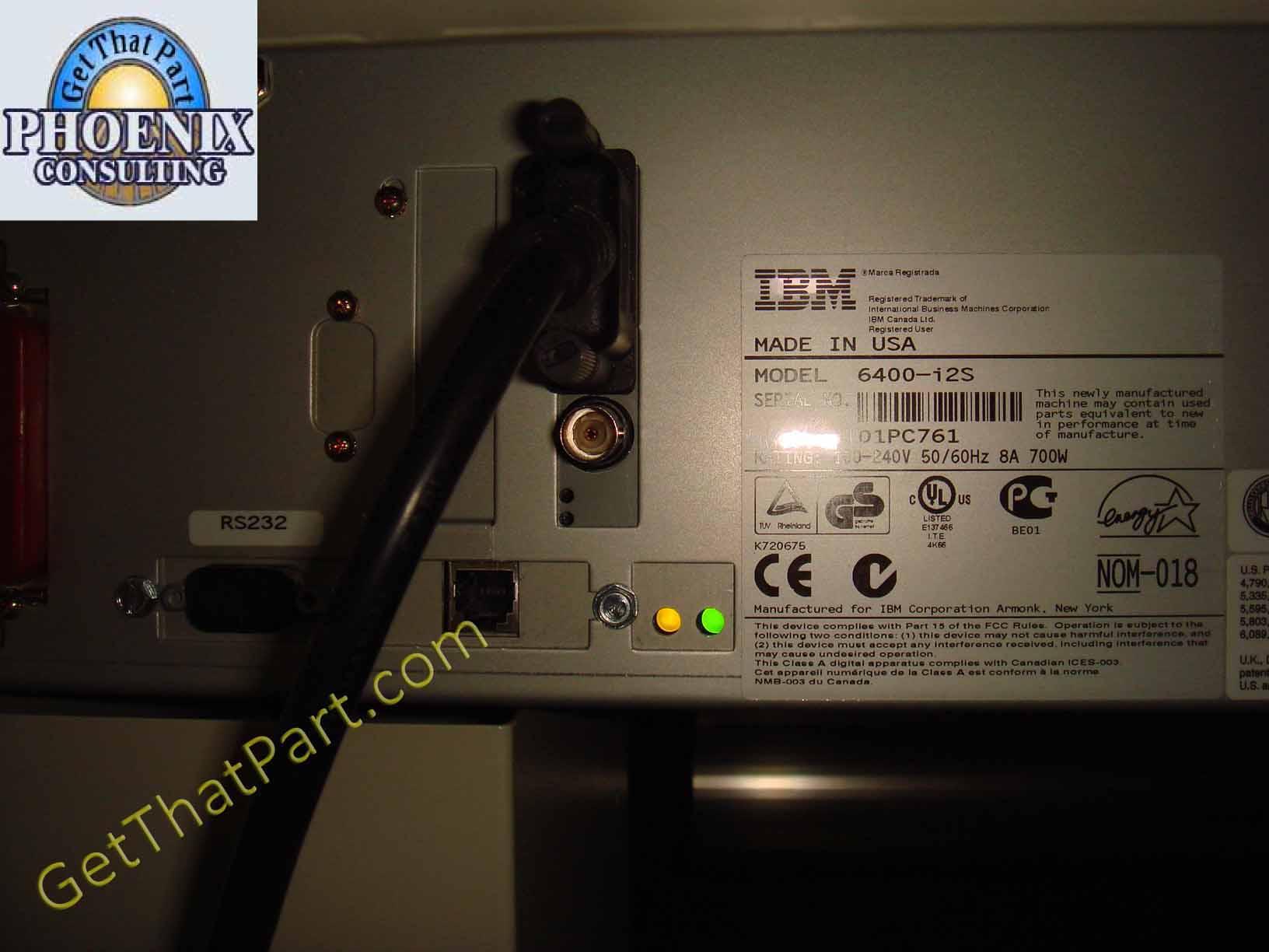 ibm 6400 i2s 6400i2s 2000 lpm line matrix network workgroup printer rh getthatpart com
