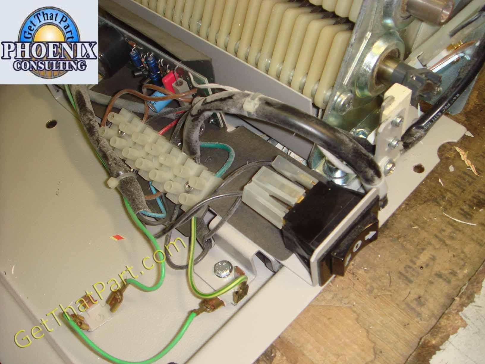 Ideal 3801 1436306 g destroyit 3801 stripcut german m gear industrial paper shredder 4 Wire Motor Wiring Diagram Old at nearapp.co
