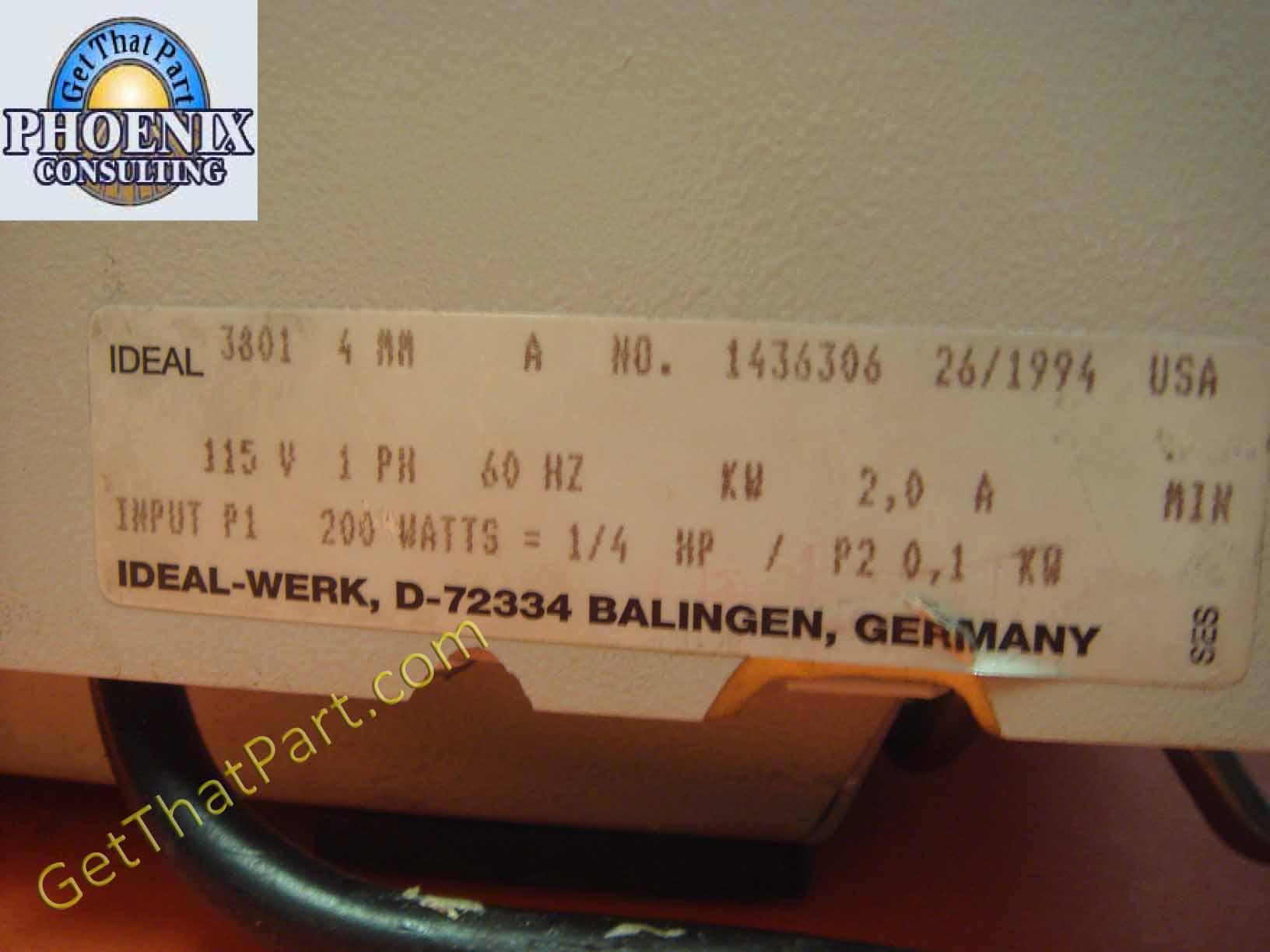 4 Wire Paper Shredder Motor Wiring Diagram 42 Germany Diagrams Ideal Destroyit 3801 Stripcut German M Gear Industrial