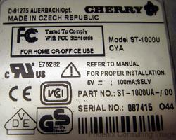 CHERRY 1000U DRIVERS WINDOWS 7