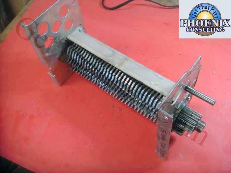 Paper Mill Parts : Fellowes cc  crosscut paper shredder mill