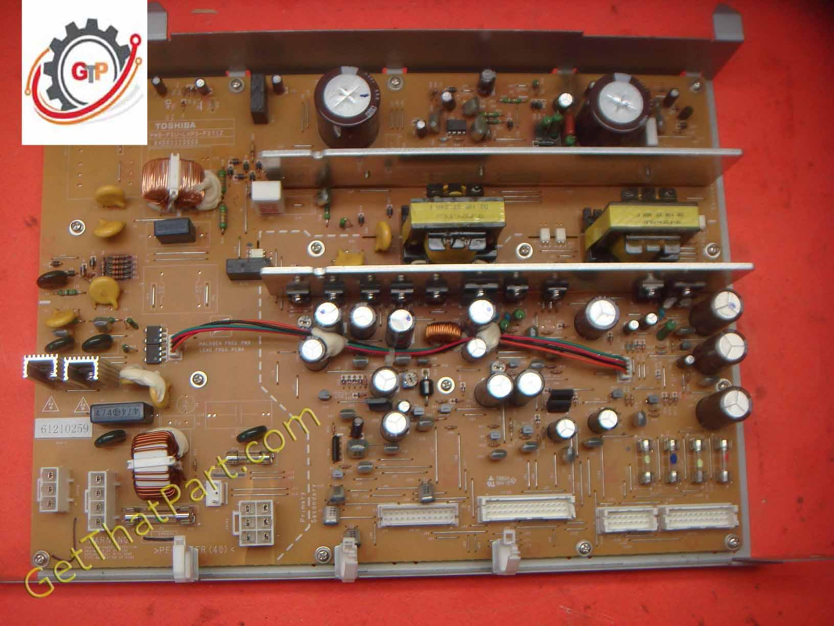 Toshiba Estudio 282 230 232 233 200l 202l 203l Lvps Main Power Supply Connector Wiring Diagram