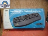Belkin Ergoboard Pro USB Natural Split Keyboard New F8E887-BLK