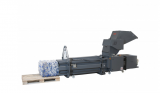 HSM 6577 CP 4988 PET Bottle Crusher Press Recycling System Combo New