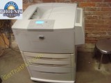 HP LaserJet 9050DN Q3723A Tabloid Printer and C8531A Tray4 Feeder Cart