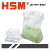 HSM Classic 108 Securio B24 AF150 AF300 Waste Bags Roll 100 New