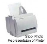 HP LaserJet 1100 B/W Laser printer - 8 ppm - 125 sheets