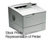 HP LaserJet 4000 B/W Laser printer - 17 ppm - 600 sheets