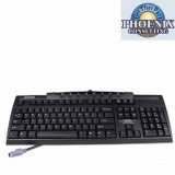 Compaq HP 122659-008 KB-9963 Black PS2 Keyboard