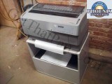 Epson DFX-9000 P371A Hi-Speed Commercial Forms Impact Printer w/Stand