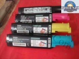 Epson S050190 CX11NF CX11N Complete Oem Toner Set of 4 Cartridges