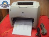 HP LJ 1300 Desktop USB Personal Laser Printer Tested with Toner Q1334A