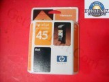 HP 45 Black OEM Virgin Ink Cartridge 51645A