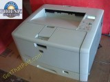 HP 5200 Q7543A Desktop Tabloid USB Network Printer w/Toner-Work Ready