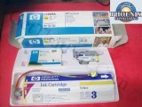 HP DesignJet 3500CP OEM Yellow Ink System C1809A