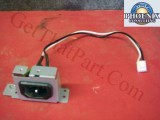 HP IR4044K535NI 9200C 9250C Sender Power Cable Assy & Receptacle