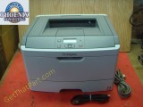 Lexmark E360dn Desktop Network USB Laser Printer 9,167 Page Count