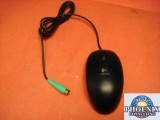 Logitech M-SBF96 852149-0000 3 Button Optical PS2 Wheel Mouse