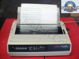 Okidata GE8286A Microline 395 Industrial Forms Dot Matrix Printer