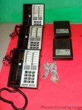 ATT 7410 Plus Voice Terminal & S201 Speakerphone Lot