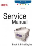 Xerox Phaser 7400 Color Laser Printer Service Manual Book 1