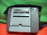 ZEBRA PA400 PORTABLE Barcode Bar Code THERMAL PRINTER w/Power Supply