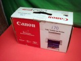 Canon I70 8107A001 Portable BubbleJet Photo Printer & BATTERY