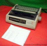 Okidata Microline 390 USB Wide Forms Dot Matrix Printer