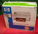 HP Photosmart C5180 All-In-One Scan Copy Printer NEW