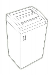 HSM Classic 225 CC 225 SC Paper Shredder Oem Door Hinge New