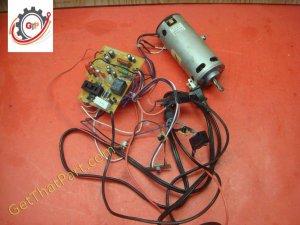 Ativa MD 1250 Paper Shredder Main Board Switch Motor Assembly