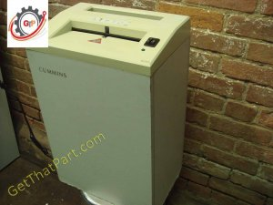 Cummins 515 Ideal TA 2010E German Deskside Idustrial Stripcut Shredder