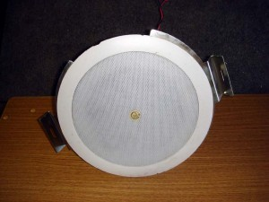 ATLAS SOUND FAP24T Ceiling Mount Speakers - PAIR OF 2