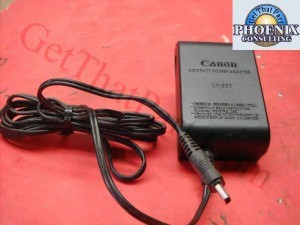 Canon Compact Camcorder Genuine OEM Power Adapter CA-590