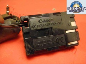 Canon DR-400 5738A001 DC Coupler Power Supply Adapter