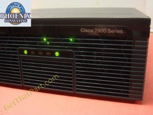 Cisco 2921 K9 V07 Small Office Voice Data Integrated Services Router