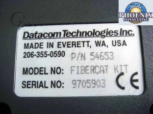 Datacom FiberCat LanCat V 54653 Optical Loss Test Kit