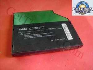 Dell 6P811-A00 Latitude External DVD CD-R/W Optical Media Bay Drive