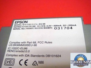 Epson 2101928 Aculaser CX11NF Fax Expansion Board Assy